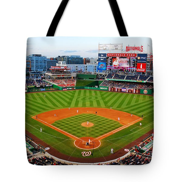 Washington Nationals Park Tote Bag