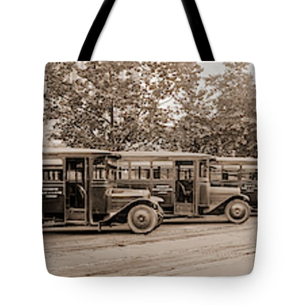 Washington Railway And Electric Company Tote Bag