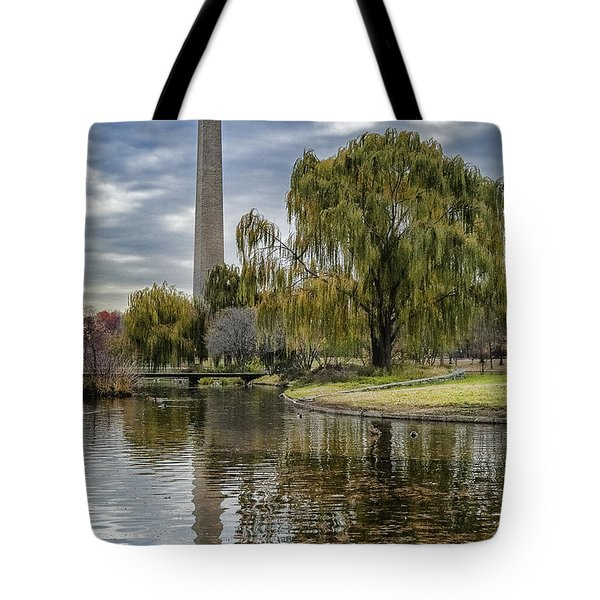 Washington Reflection Tote Bag