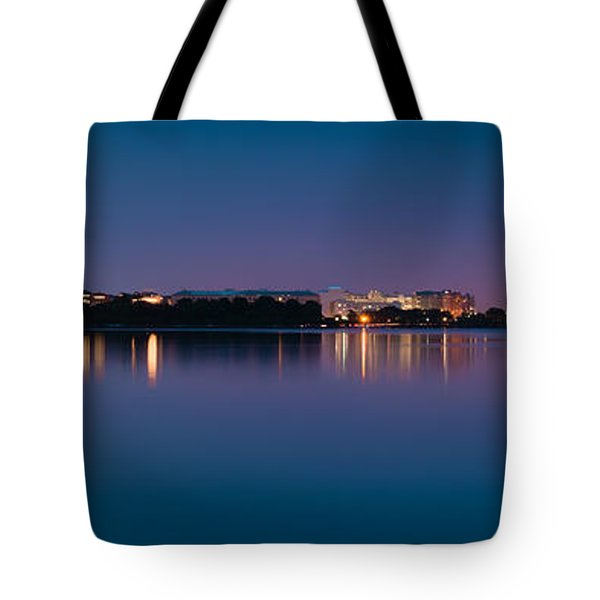 Tote Bag featuring the photograph Washington Skyline by Sebastian Musial