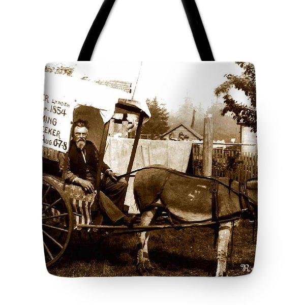 Washington State Pioneer Tote Bag