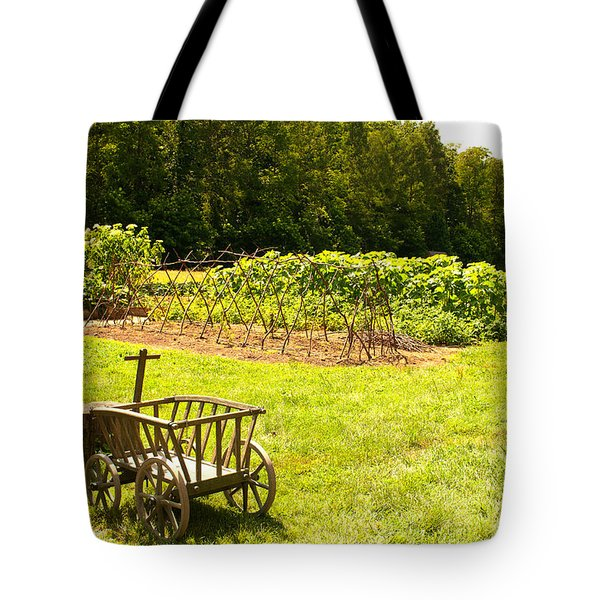 Washington's Garden Tote Bag