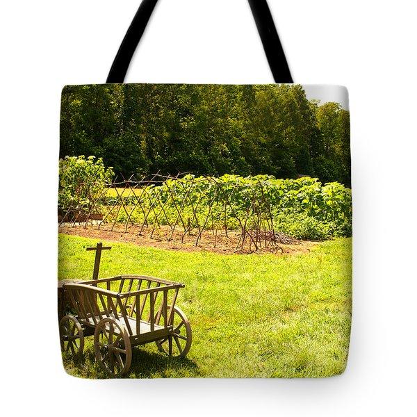 George Washington's Garden Tote Bag