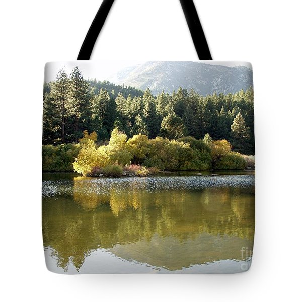 Tote Bag featuring the photograph Washoe Valley by Carol Sweetwood