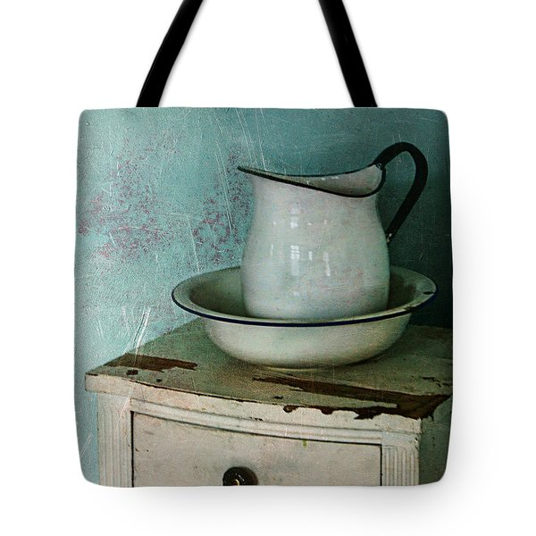 Washstand Still Life Tote Bag