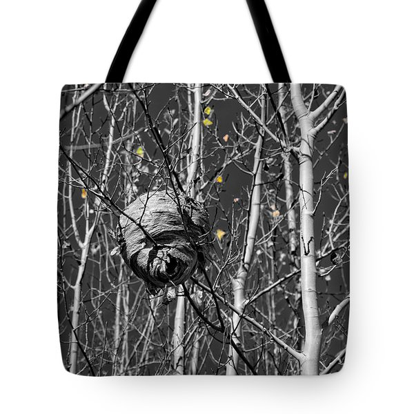 Wasp Nest In Aspen Tote Bag