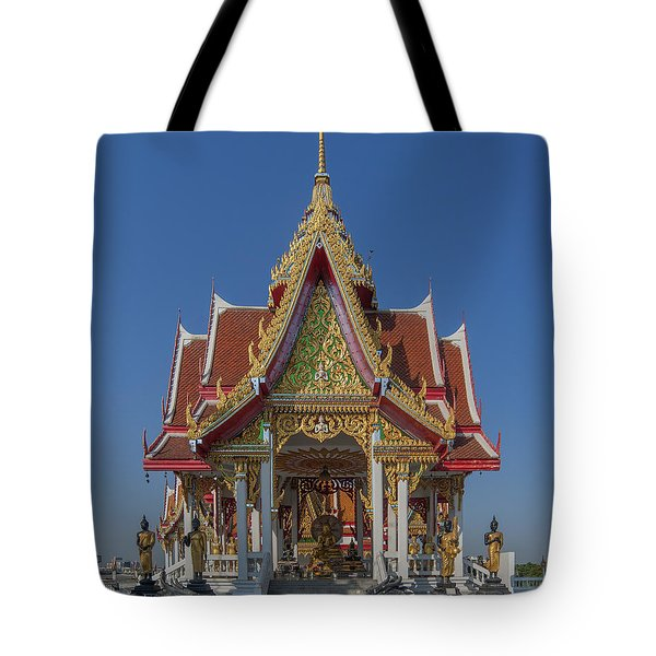 Wat Bukkhalo Central Roof-top Pavilion Dthb1809 Tote Bag