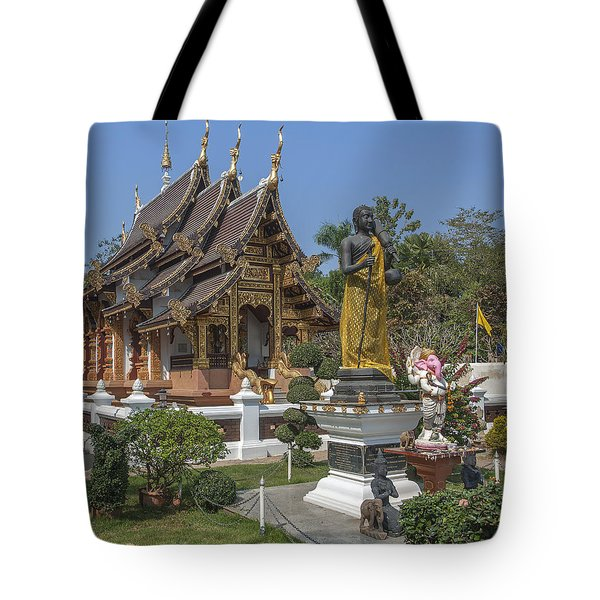 Wat Chedi Liem Phra Ubosot Dthcm0831 Tote Bag