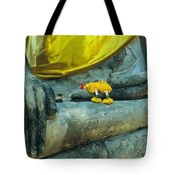 Wat  Mahathat Tote Bag