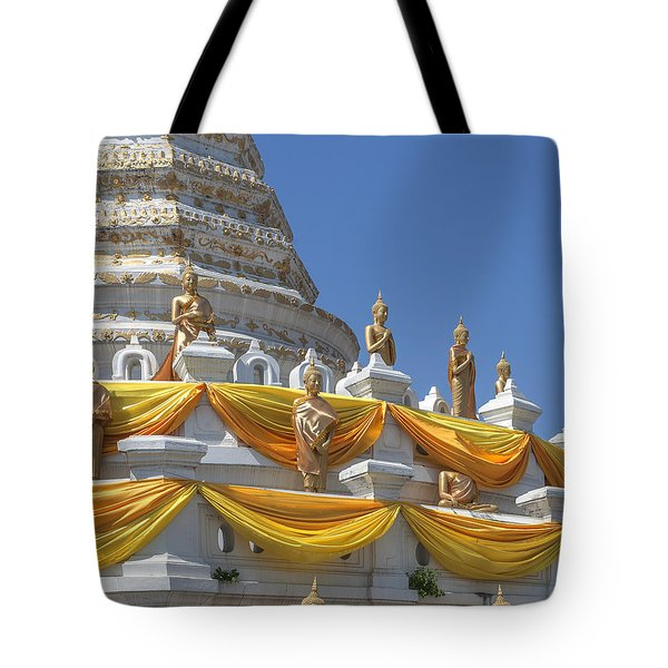 Wat Songtham Phra Chedi Buddha Images Dthb1916 Tote Bag