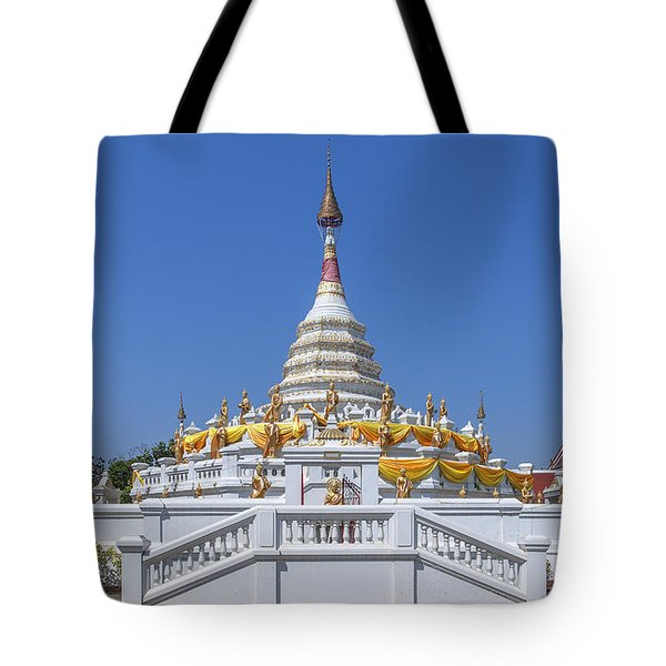Wat Songtham Phra Chedi Dthb1915 Tote Bag