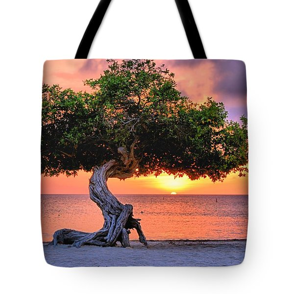 Watapana Tree - Aruba Tote Bag
