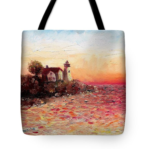 Watch Over Me Tote Bag by Shana Rowe Jackson