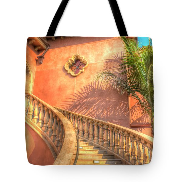 Watch Your Step And Welcome Tote Bag by Heidi Smith