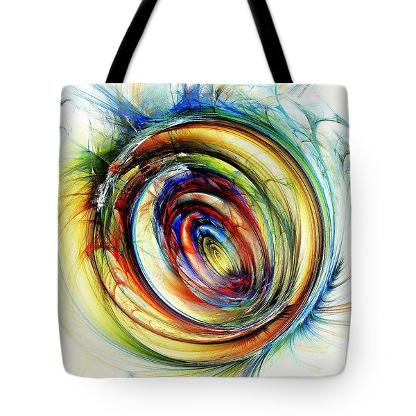 Watchful Eye Tote Bag by Anastasiya Malakhova