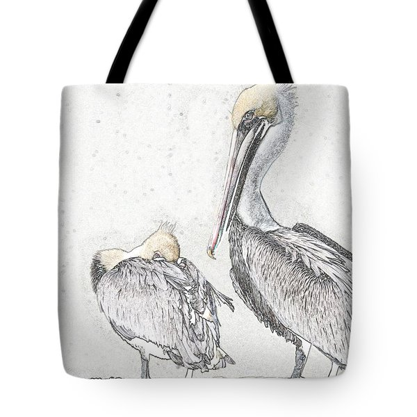 Tote Bag featuring the photograph Watchin' Me by Laura Ragland