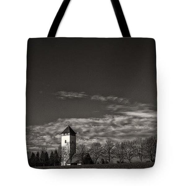 Watching Over Buchheim Tote Bag by Bernd Laeschke