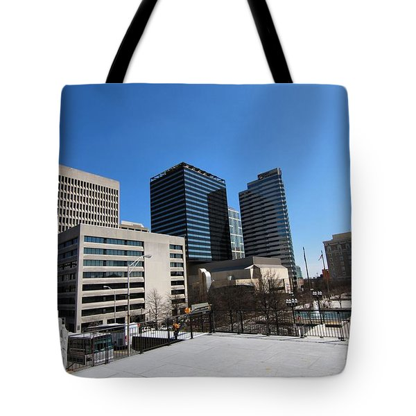 Watching Over Nashville Tote Bag by Dan Sproul