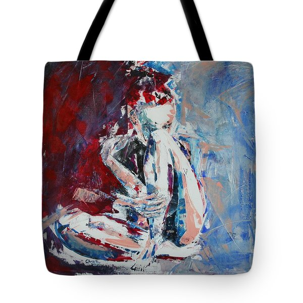 Watching Stars Without You Tote Bag