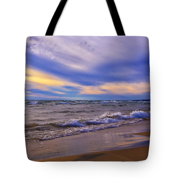Watching The Sunset Tote Bag by Rachel Cohen