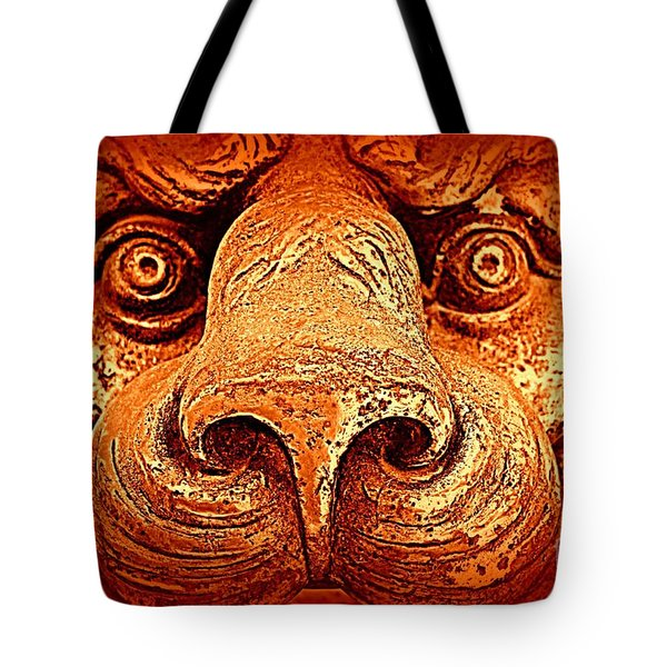 Watching You Tote Bag by Clare Bevan