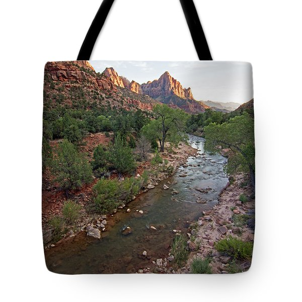 Watchman Sunset Tote Bag