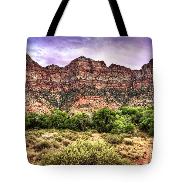 Tote Bag featuring the photograph Watchman Trail - Zion by Tammy Wetzel