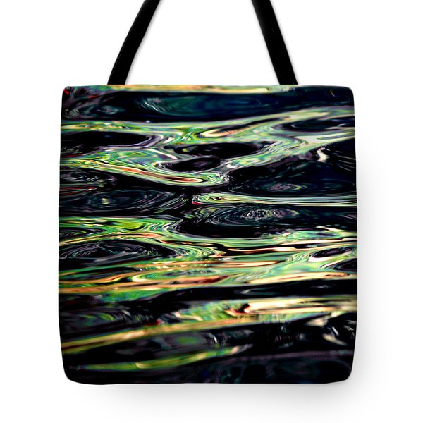 Water Abstract Tote Bag by Bill Gallagher