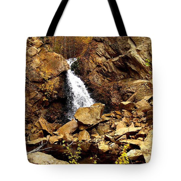 Water Always Gets Through Tote Bag