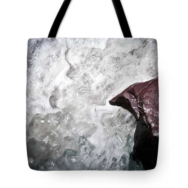 Water And The Rock Tote Bag