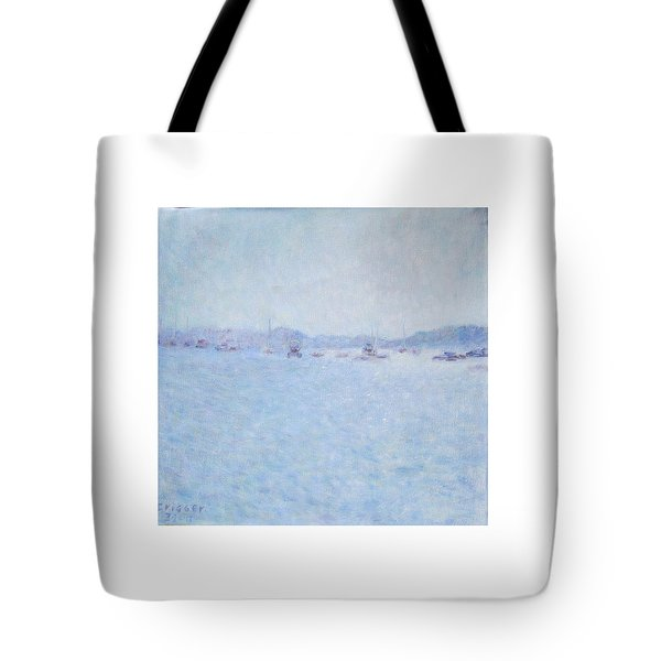 Water At Cannes France Tote Bag