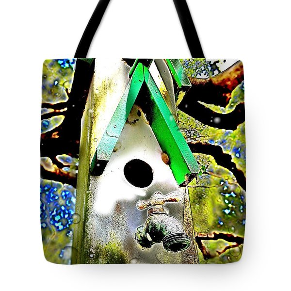Water Birds Tote Bag