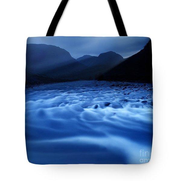 Water Blues Tote Bag