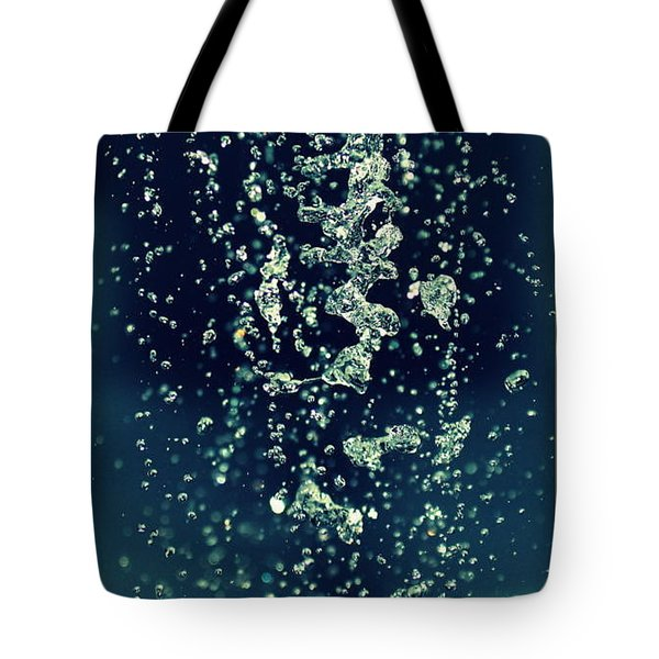 Tote Bag featuring the photograph Water Blues by Marija Djedovic