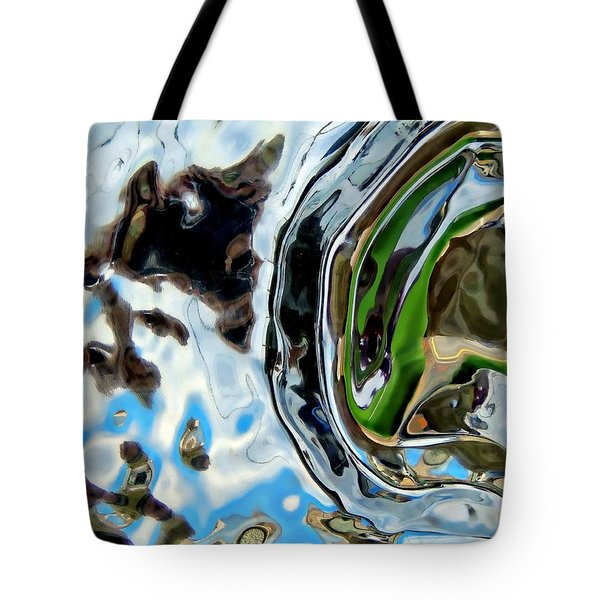 Water Captivates Tote Bag