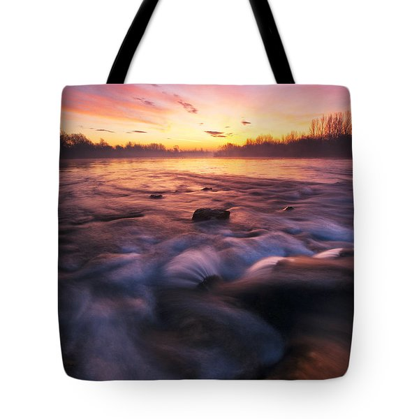Water Claw Tote Bag by Davorin Mance