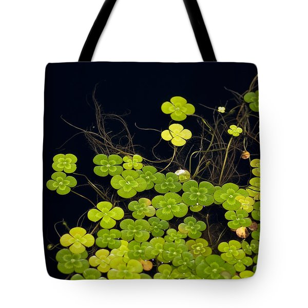 Water Clover Tote Bag