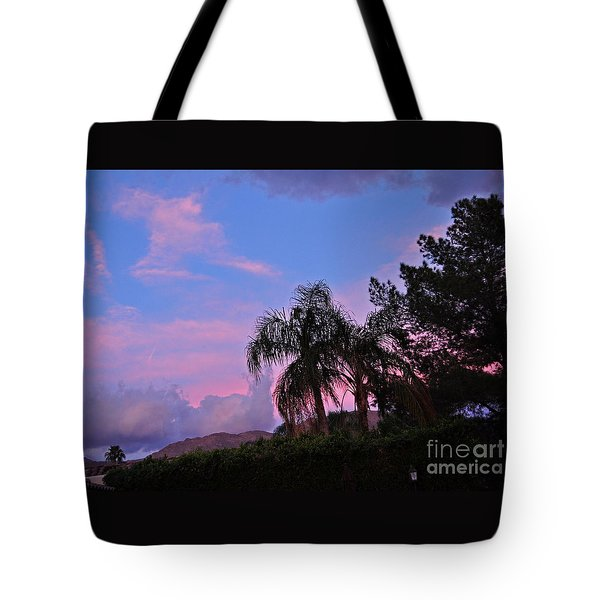 Water Colored Sky Tote Bag