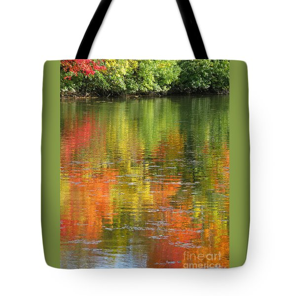 Water Colors Tote Bag by Ann Horn