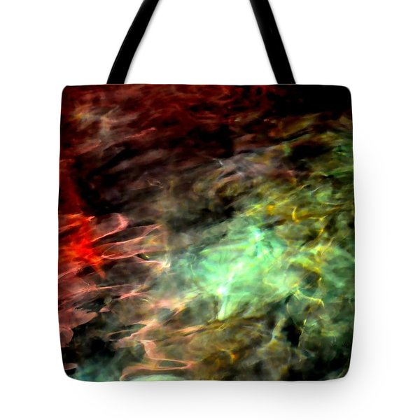 Tote Bag featuring the photograph Water Colors by Deena Stoddard