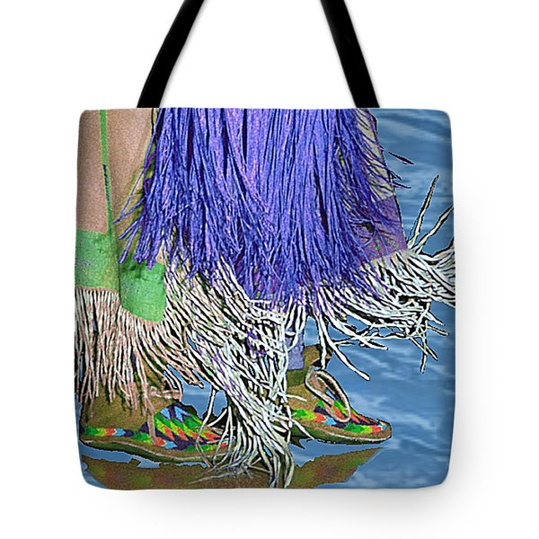 Water Dancing Tote Bag by Kae Cheatham