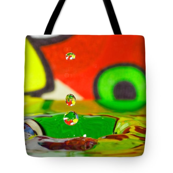 Tote Bag featuring the photograph Water Dew by Peter Lakomy