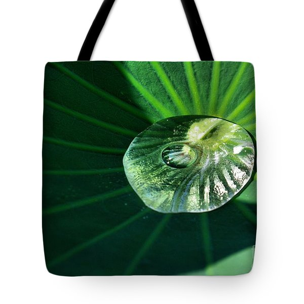 Water Drop Tote Bag