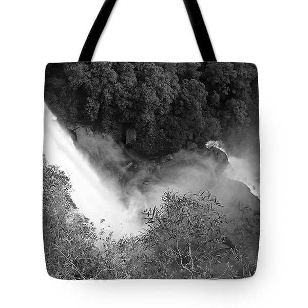 Water Fall And Bushland Tote Bag by Cheryl Miller