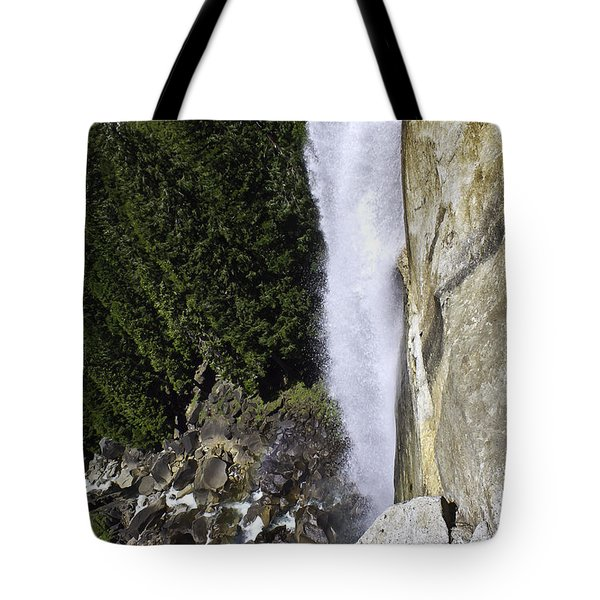 Tote Bag featuring the photograph Water Fall by Brian Williamson