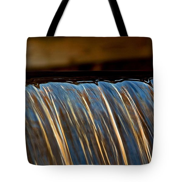 Water Falls Edge 3 Tote Bag