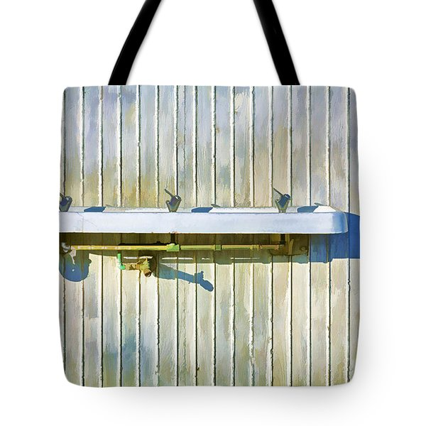 Water Falls Like Money Tote Bag by Scott Campbell