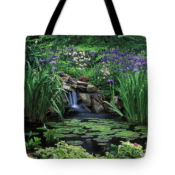 Water Feature - Fs000150 Tote Bag