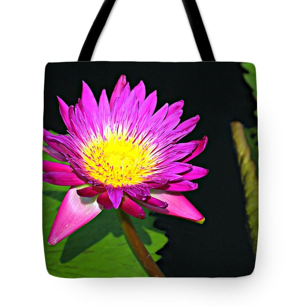 Tote Bag featuring the photograph Water Flower 10089 by Marty Koch