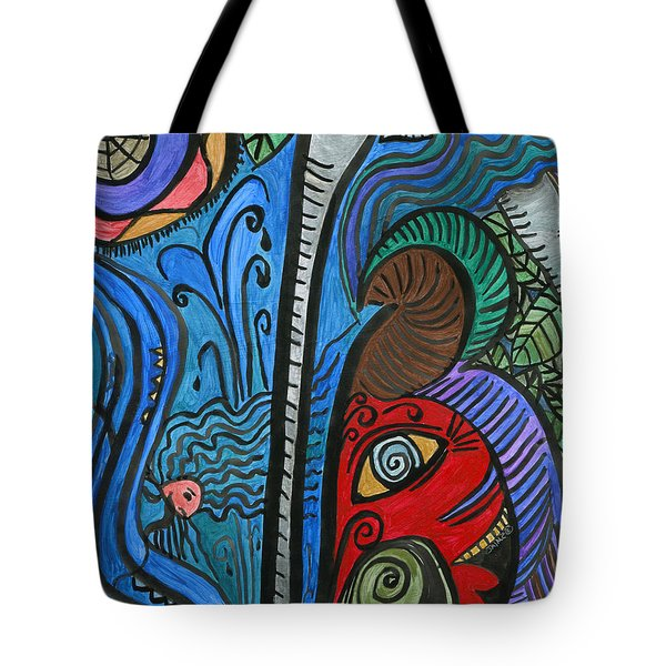 Water For Elephant Tote Bag